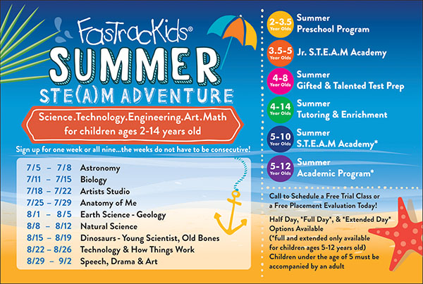 FasTracKids NY Summer Camp Programs