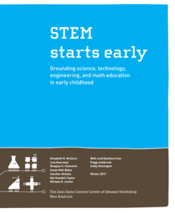 start teaching STEM earlier!