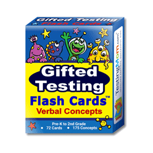 buy testingmom.com gifted talented flash cards