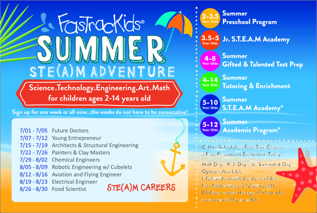 Fastrackids Summer Ste A M Adventure All New Day Camp Themes