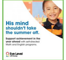 FTK / Eye Level Learning Center's Math & English Tutoring Helps Prevent Summer Brain Drain