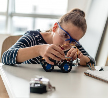 Prepare your girls for the future with Math & STEAM+ classes!